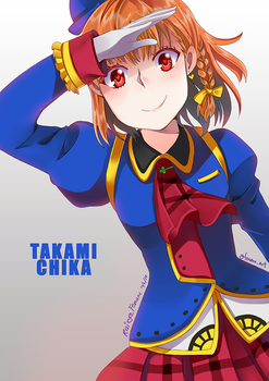 Love Live : Happy Party Train -Chika version- by rairy