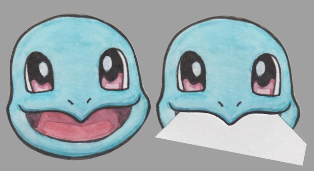 Squirtle Page Muncher by SilverSnake19