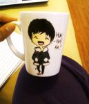 DRRR- Izaya Mug by Sweet-Mint