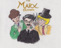 The Marx Brothers by EilonMaddock