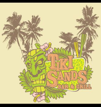 Tiki Sands Shirt by paulhershey