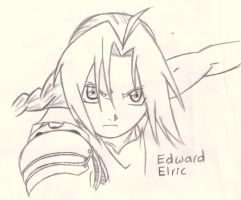 Edward Elric by yodana