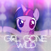 Madonna - Girl Gone Wild (Twilight Sparkle) by AdrianImpalaMata
