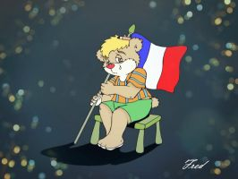 Our hearts are with you, France! by fredvegerano