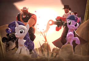 Pony Fortress 2 by Deniszizen
