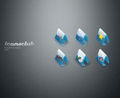 Folder Iconset by IconsClub