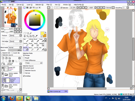 Colorindo - Sila e Lorena S2 by LitaOliveira