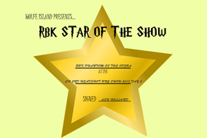 RBK Star of the Show - RBK Phantom of the Opera by TheChiefofTime