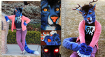 Wolf/Tiger/Deer Demon Partial Fursuit by Tsebresos
