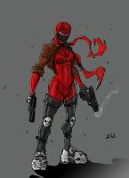 Bloodwork commission 2011 by ZipDraw