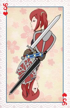 Severa-Selena card by DromeP