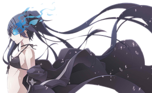 Black Rock Shooter Png by bloomsama