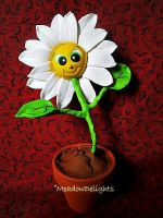 Happy Daisy Clay Flower by MeadowDelights