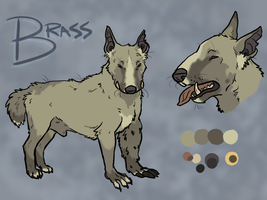 Cavern Hounds: Brass v2 by Pred-Adopts