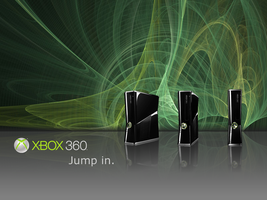 Xbox 360 Slim Wallpaper by kironohasama