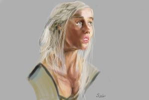 The Girl with White Hair {portrait study} by SarahMinishCap
