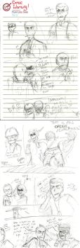 TF2 Comic | It's Different Now Page 1 (R to L) by Watson-Holmes