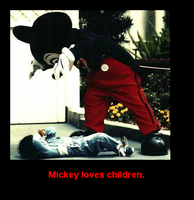 I dont like Mickey Mouse. by punkrockerdude