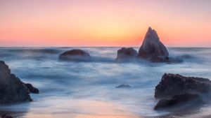 Half Moon Bay Sunset by tamduong
