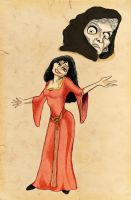 Mother Gothel by xoyooyox