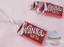 Scented Wonka Bar necklace by ilikeshiniesfakery