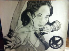 Katniss Everdeen by natashaboucher2