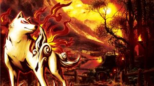 Okami: Amaterasu by Nightfall1007