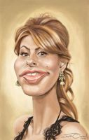 EVA MENDES by JaumeCullell