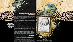Ravaged Layout by SkylineIllusions