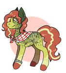 [Auction] Watermelon Pony Adoptable - OPEN! by xKarka