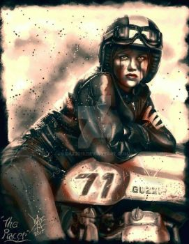 ' The Racer '... by Daz2015