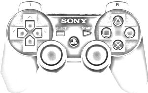 PS3 Dualshock 3 by Squall-Darkheart