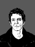 Lou Reed by Liko