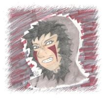 Manbeast Kiba - coloured by dani-jou