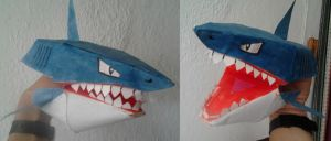 Great White Shark - Papercraft. by Gonzaloguay