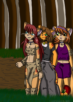 Sisters Within the Forest. by TMNTISLOVE