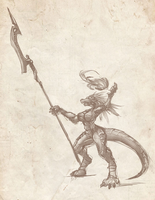 Kobold sorceress by N647