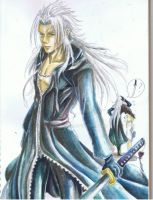 Xemnas and Masamune by Aquarina12