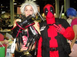 Deadpool and Haseo by KitsuneHime89