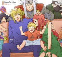 happy birthday naruto by warable