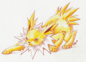 .Jolteon. by Ishisu