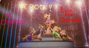 Alvin and the chipmunks-Brittany and the chipettes by blackrose96becky