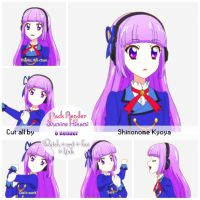 [Share] Pack Render Sumire Hikami by shinonomekyoyaTTH