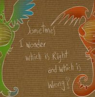 Right and Wrong by sara-nmt