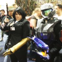 GenCon 09 - Turk and ODST by ArtKnife-Inc