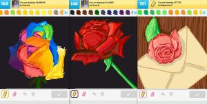 Draw Something!!! (Rose Edition) (Day 144) by Hedwigs-art