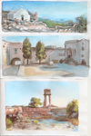Greece sketches by DreamyNatalie