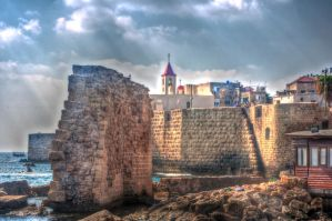 ACRE OLD CITY HDR by dimkabar