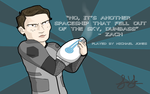 LAZER TEAM - MICHAEL JONES by MrNinja3322