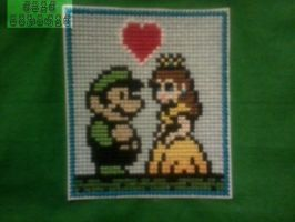 Luigi and Daisy by RAWRRR-monster